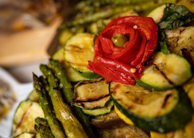Pulcinella Authentic Italian Restaurant Grilled Vegetables