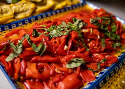 Pulcinella Authentic Italian Restaurant Roasted Peppers