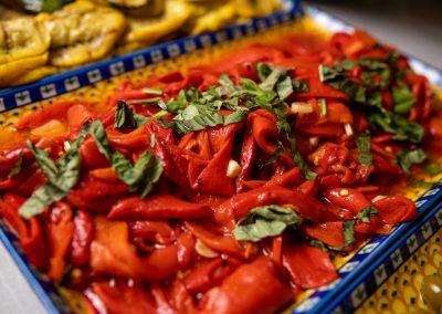 Pulcinella Authentic Italian Restaurant Roasted Peppers