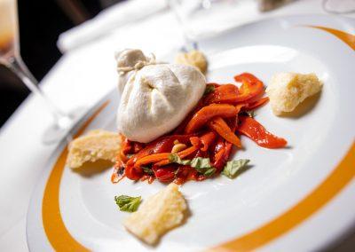 Pulcinella Authentic Italian Restaurant Sacchetto di Burrata