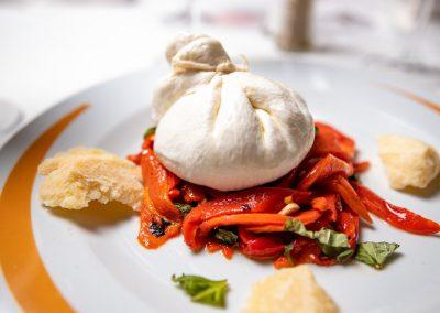 Pulcinella Authentic Italian Restaurant Sacchetto Burrata