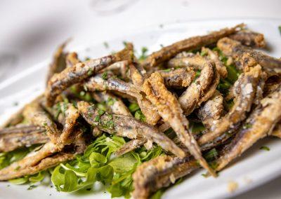 Pulcinella Authentic Italian Restaurant Alici Fritte
