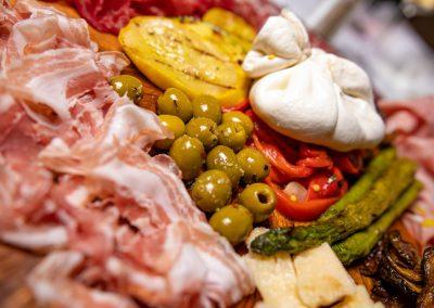 Pulcinella Authentic Italian Restaurant Cold Antipasto Platter