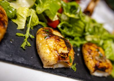 Pulcinella Authentic Italian Restaurant Grilled Calamari