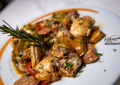 Pulcinella Authentic Italian Restaurant Chicken Piccata