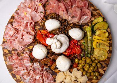 Pulcinella Authentic Italian Restaurant Fresh Antipasto Platter