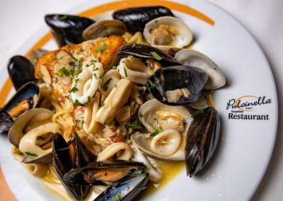 Pulcinella Authentic Italian Restaurant Linguine Pescatore