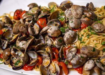 Pulcinella Authentic Italian Restaurant Linguine alle Vongole