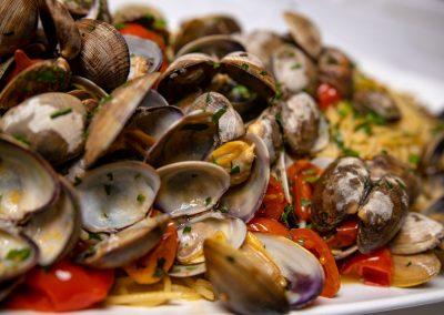 Pulcinella Authentic Italian Restaurant Linguine alle Vongole Veraci