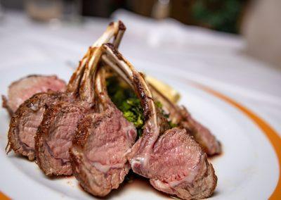 Pulcinella Authentic Italian Restaurant Lamb Chops