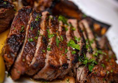 Pulcinella Authentic Italian Restaurant Grilled Steak