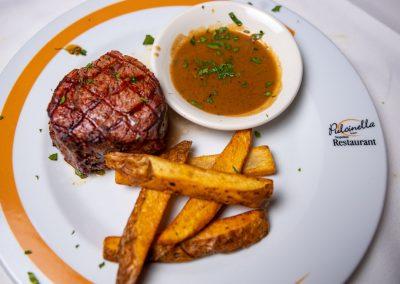 Pulcinella Authentic Italian Restaurant Filet Mignon