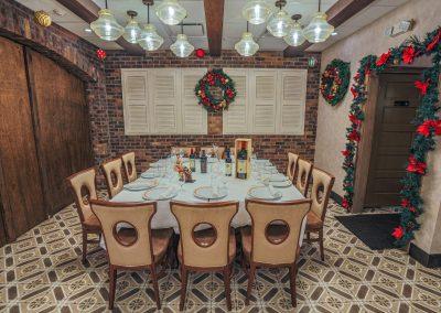 Pulcinella Authentic Italian Restaurant Private Room