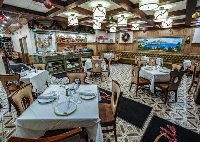 Pulcinella Authentic Italian Restaurant Main Dining Room
