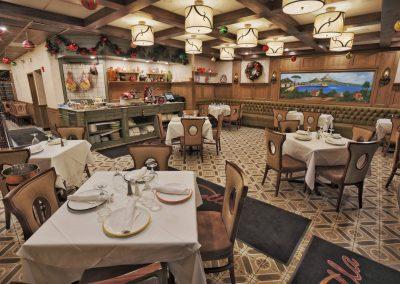 Pulcinella Authentic Italian Restaurant Main Room