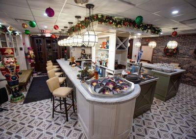 Pulcinella Authentic Italian Restaurant Bar Area