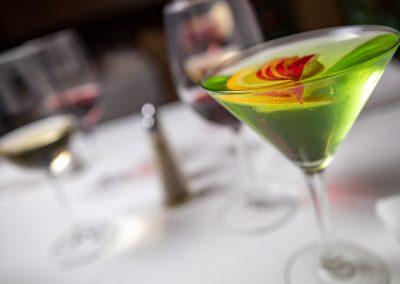 Pulcinella Authentic Italian Restaurant Apple Martini