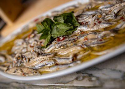 Pulcinella Authentic Italian Restaurant Alici Marinate